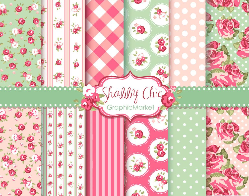 Free Scrapbook Paper Shabby Chic Google Search Printables And