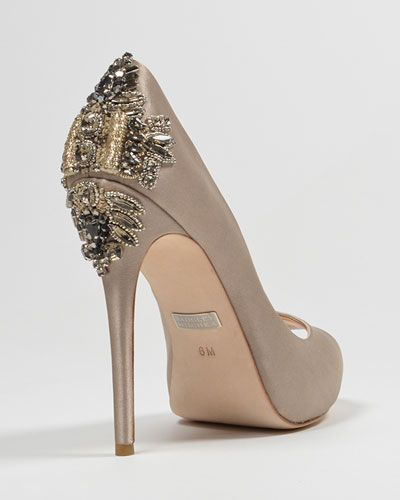 It Also Looks Great In Taupe Wedding Shoes Heels Wedding Shoe Bag Wedding Shoes