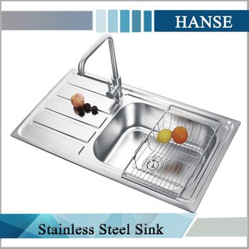 Buy Kitchen Sink Replacing Fluorescent Light Fixtures European Style Sinks With Drainboard Single Bowl 1 0m