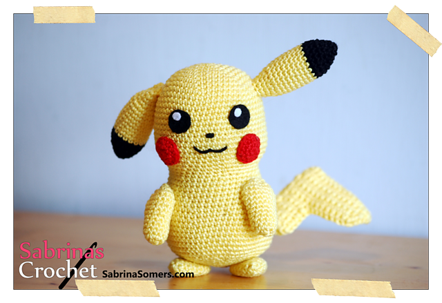 Amigurumi Patterns Pikachu : Pikachu pokemon free pattern by sabrina somers on ravelry or http