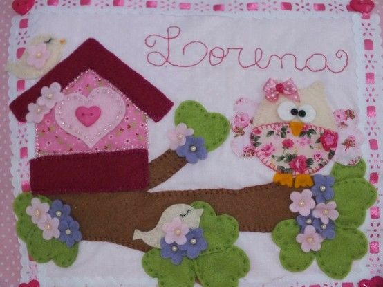 Baby Shower Decorations Hobbycraft ~ Hand stitched baby name plate created by ana hobbycraft sewing