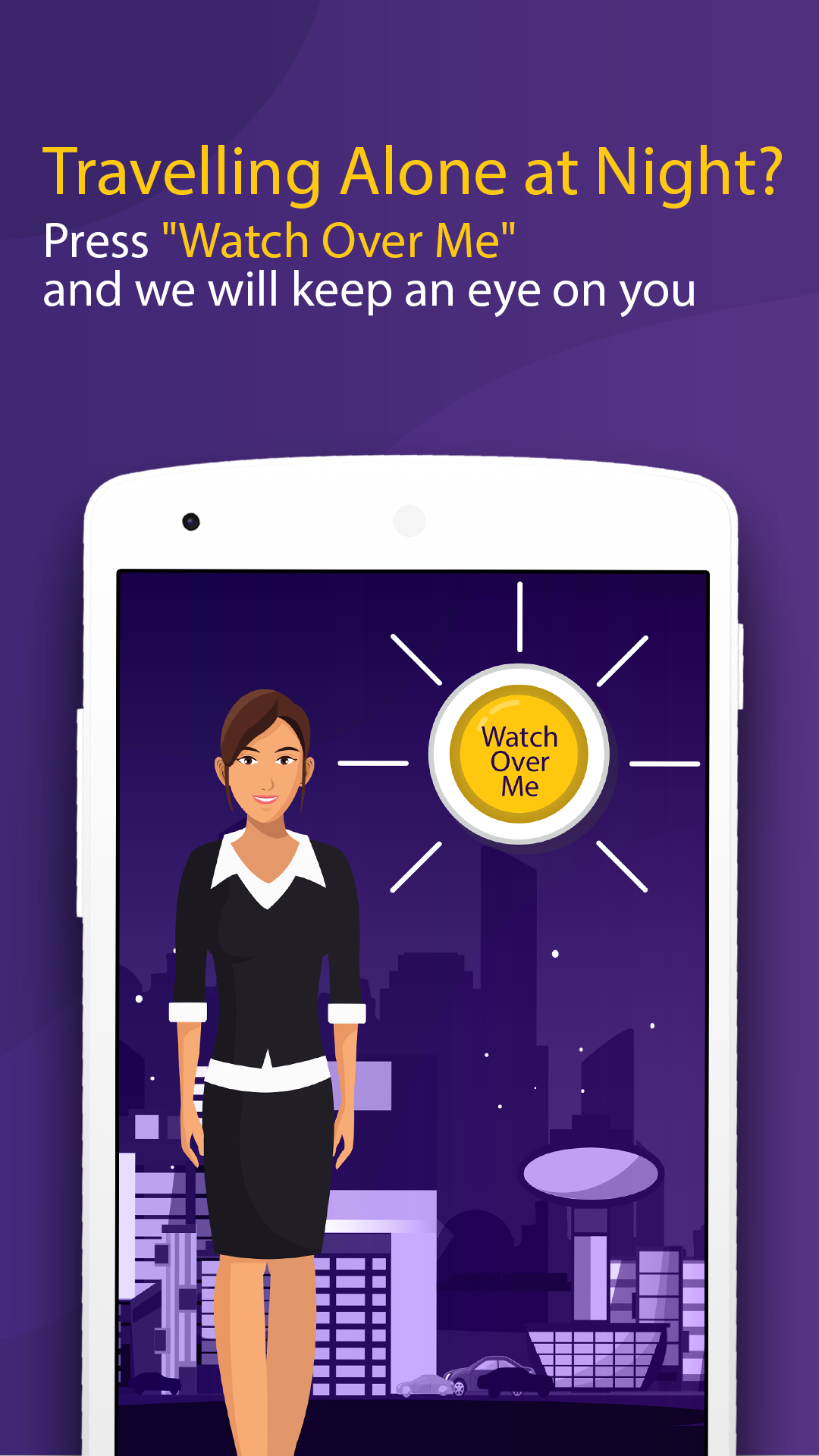 Watch Over You is India's best women safety app for android  This