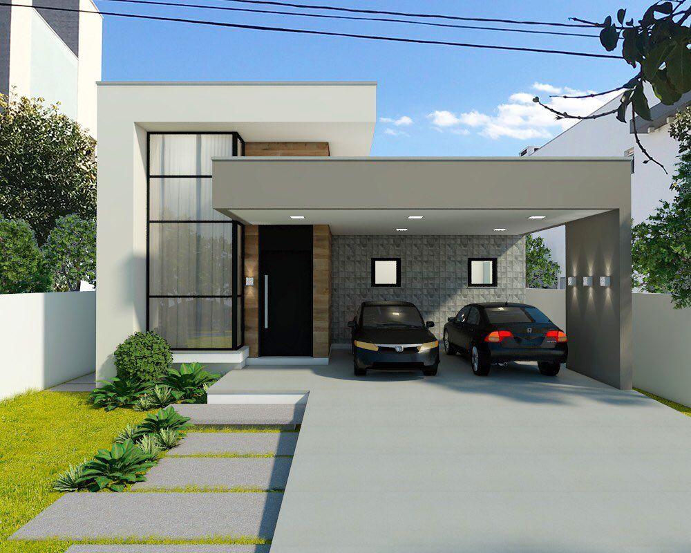 Fachada de Casas Modernas 60 inspirações para você