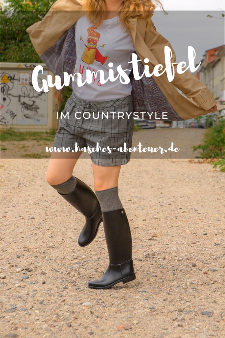 wholesale dealer bf1c7 46d6a Countrystyle mit Gummistiefeln - unsere schönsten Outfits ...