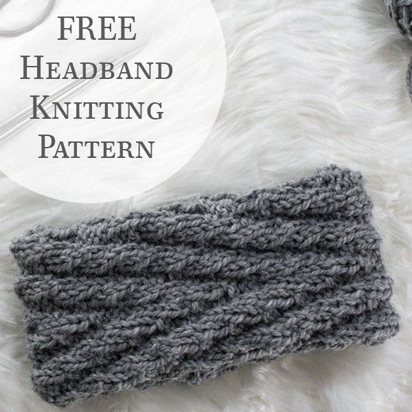 {FREE} CHUMMY : Chevron Headband Knitting Pattern - Brome Fields