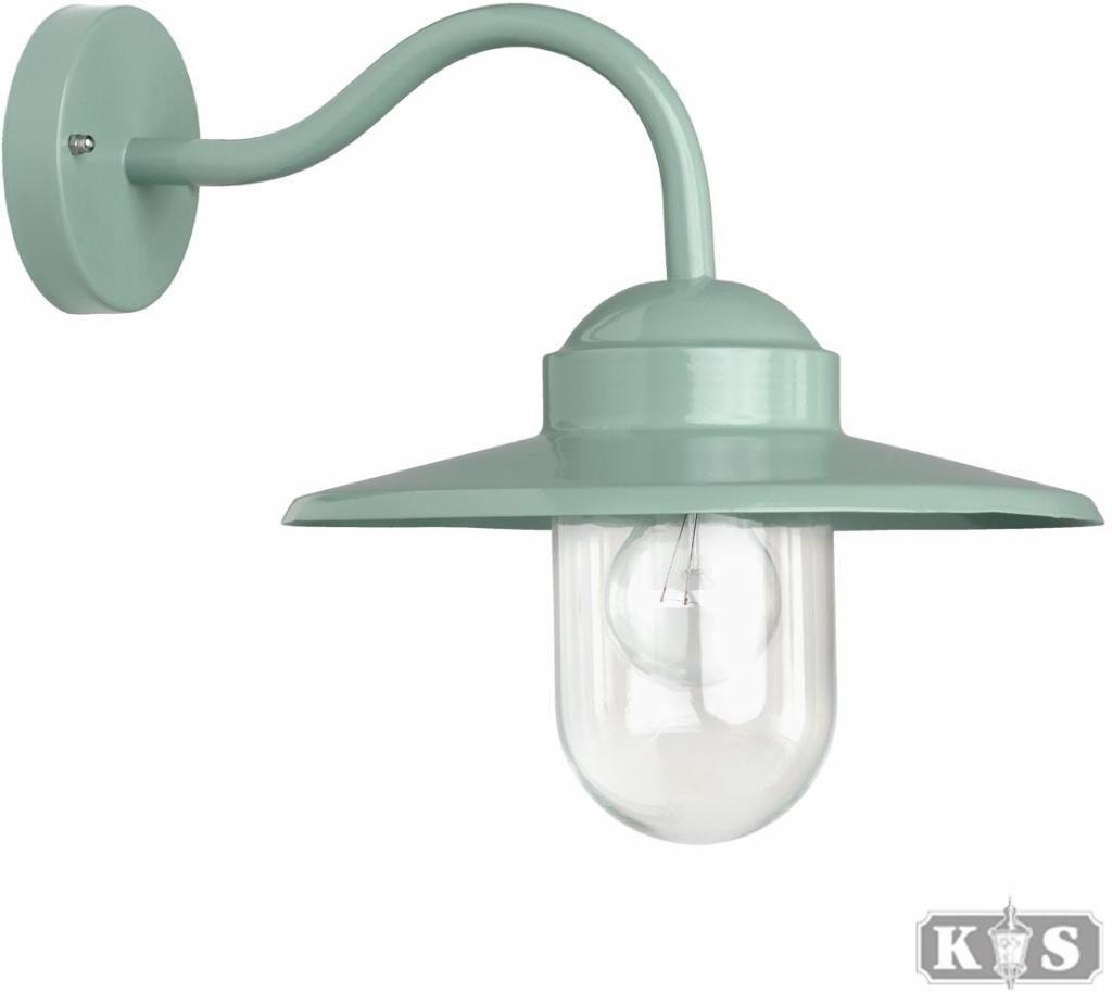 Buitenlamp Wandlamp Dolce - Aluminium - Retro Groen - KS Verlichting ...