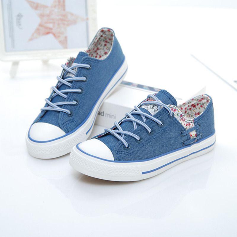 231e3433dd Barato 2017 marcas Europeias e Americanas outono novas sapatas de lona das  mulheres sapatos casuais para