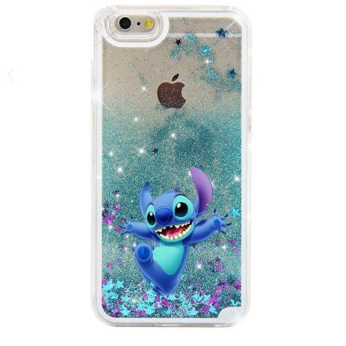 Lilo Stitch 1 OHANA DISNEY Sottile Custodia Cover iPhone 4 5 se 6