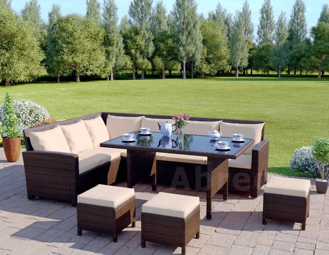 Pin By Home Done On Garden Furniture Garden Furniture Plans Rattan Garden Corner Sofa Cheap Patio Furniture