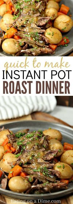 Instant Pot Roast Dinner images