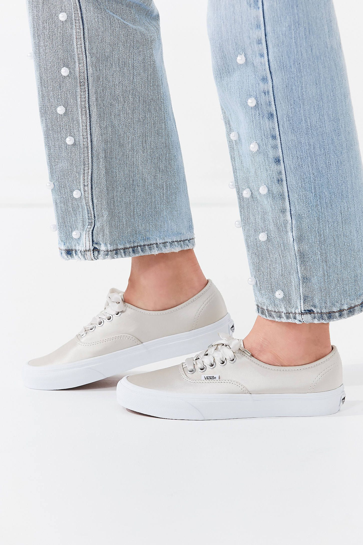 f9aa798037 Shop Vans Satin Lux Authentic Sneaker at Urban Outfitters today. We carry  all the latest styles