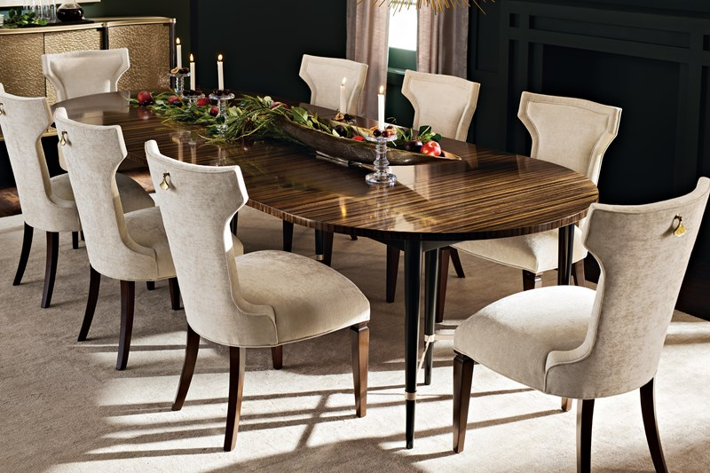 This Bold Statement Making Dining Table Will Sweep You Off Your