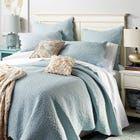 Photo of Essex Taupe Quilt & Sham