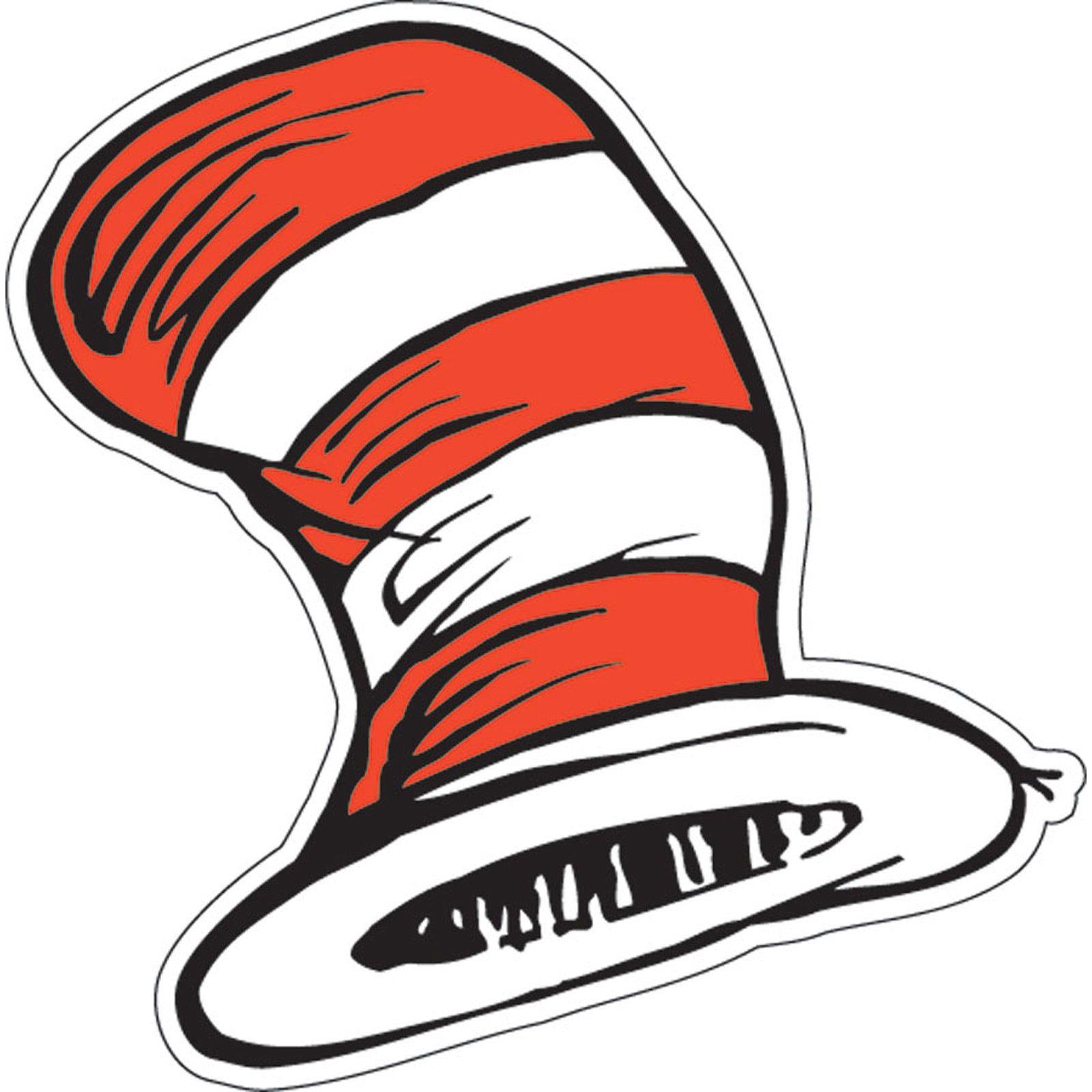dr seuss the cat s hat cutouts 36 count count and pbs kids rh pinterest co uk Printable Dr. Seuss Clip Art Ooblek Dr. Seuss Images