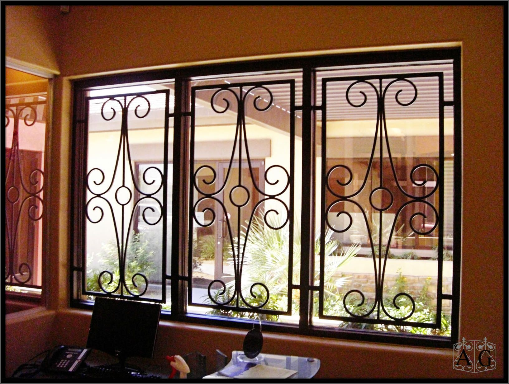 Five facts about wrought iron security bars window bars