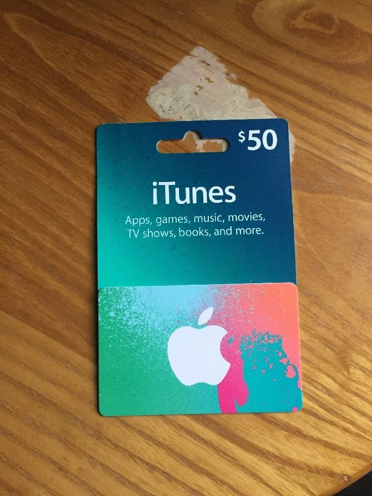 $50 iTunes gift Card (PLEASE READ ITEM DESCRIPTION) | Itunes gift ...