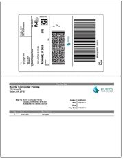 Shipping Labels for ShipStation - | Burris Products Printed