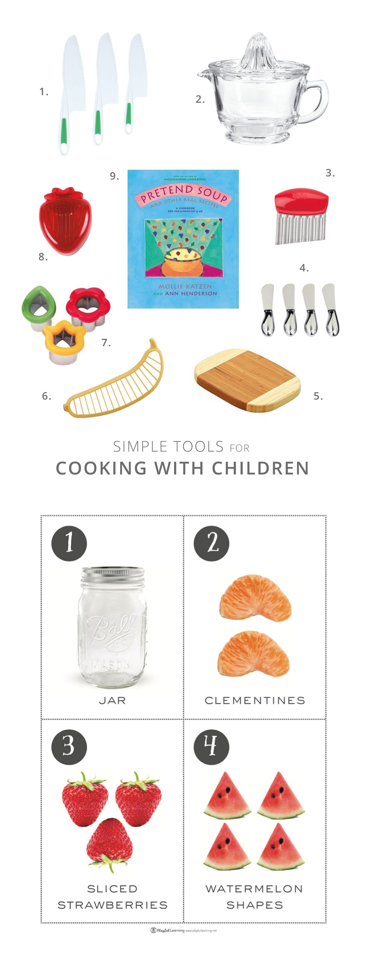 Simple Tools For Cooking With Children