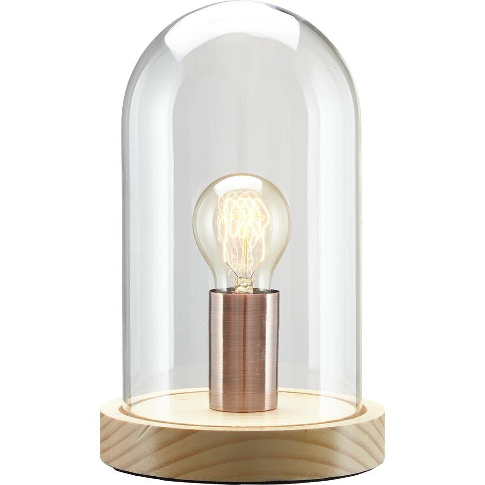 Lampe A Poser Austin Naturelle Et Noire Lampe A Poser Lamp