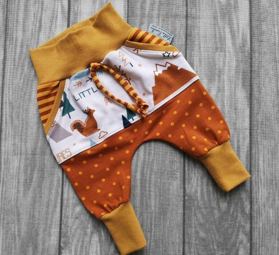 Photo of Pants Baby Boys Pants Girls Kids Baby Clothes Dots, Stripes, Indian Forest