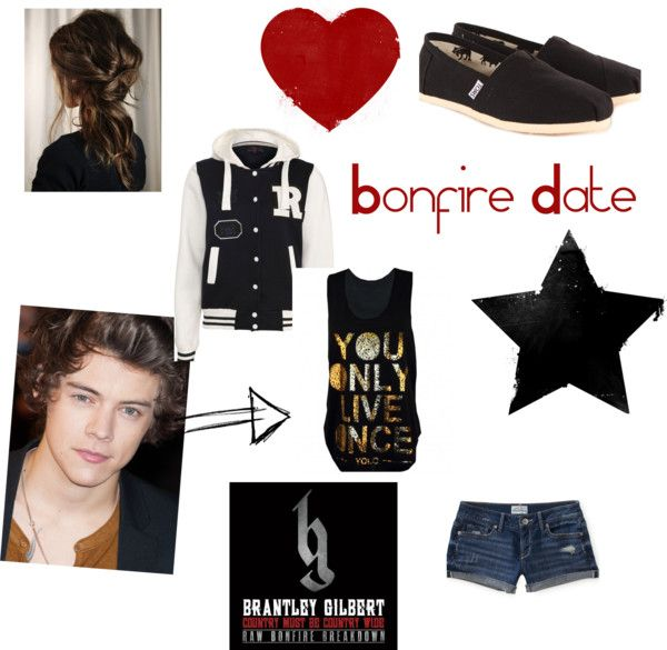"""Bon Fire Date"" by autumnskye99 on Polyvore"
