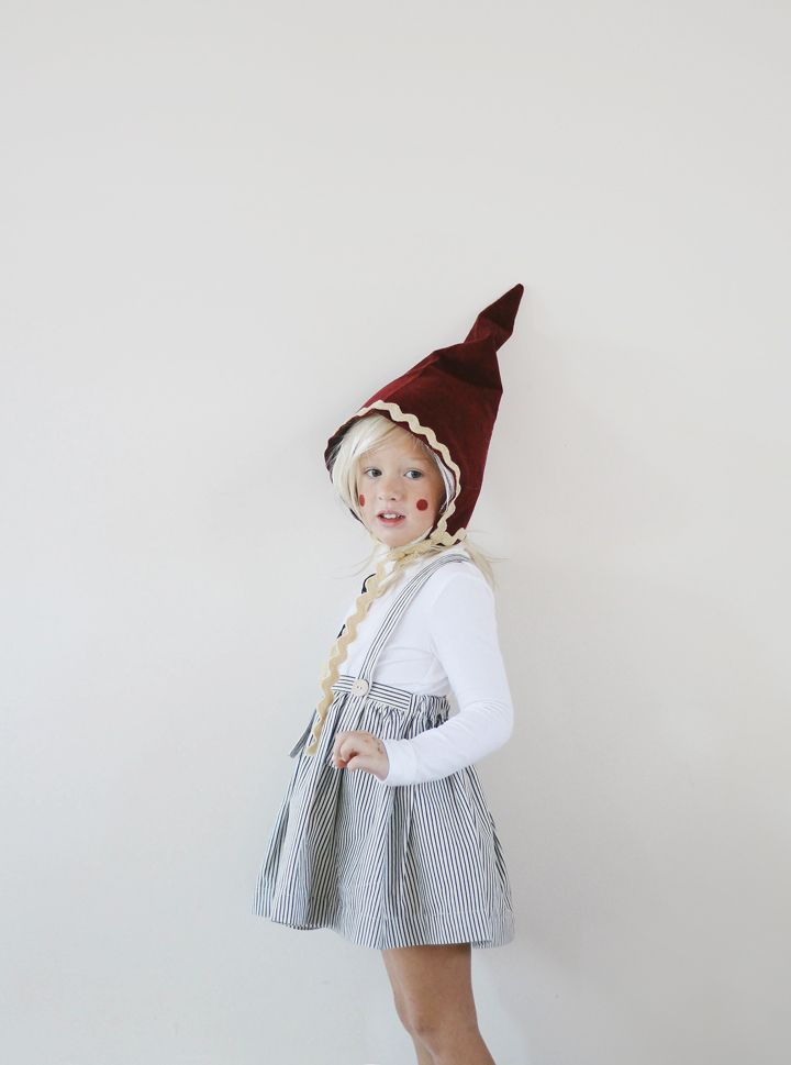 Kelli Murray | A GNOME HALLOWEEN (+ DIY) #gnomecostume