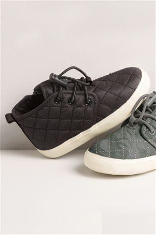 Black Quilted Chukka Boots (Younger Boys)  e18e9d9d2e