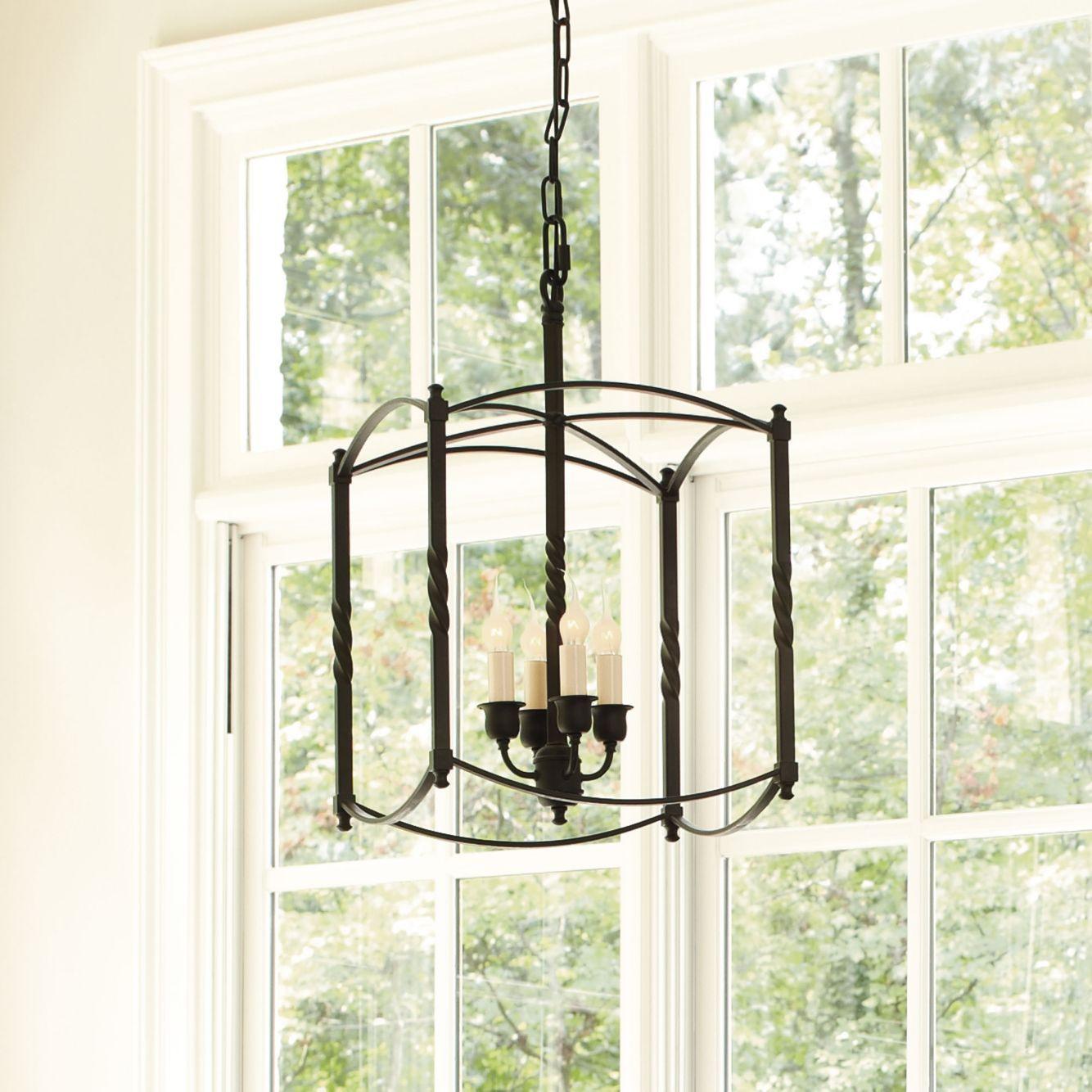 Carriage house chandelier large chandelier dark bronze