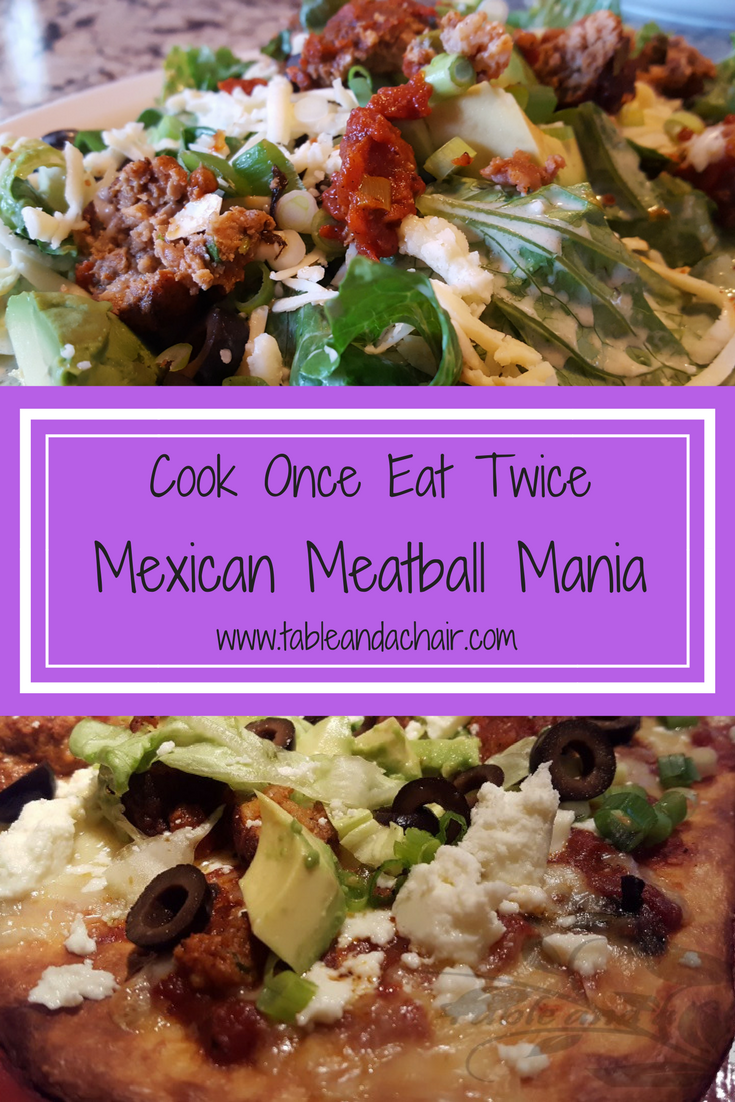 Leftovers don't have to be boring, transform these meatballs from a Mexican pizza to a zesty salad for two easy weeknight meals.