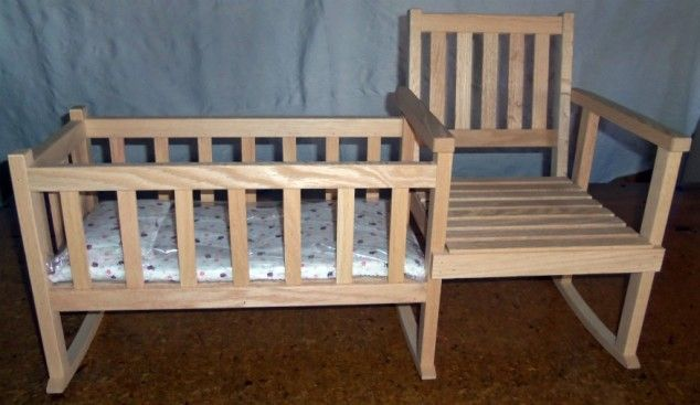 Terrific 8 Rocking Chair And Cradle Combos Nurseries Diy Crib Gmtry Best Dining Table And Chair Ideas Images Gmtryco