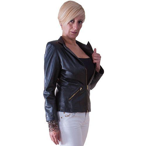 chaqueta de cuero (Brenda) - idellastyle