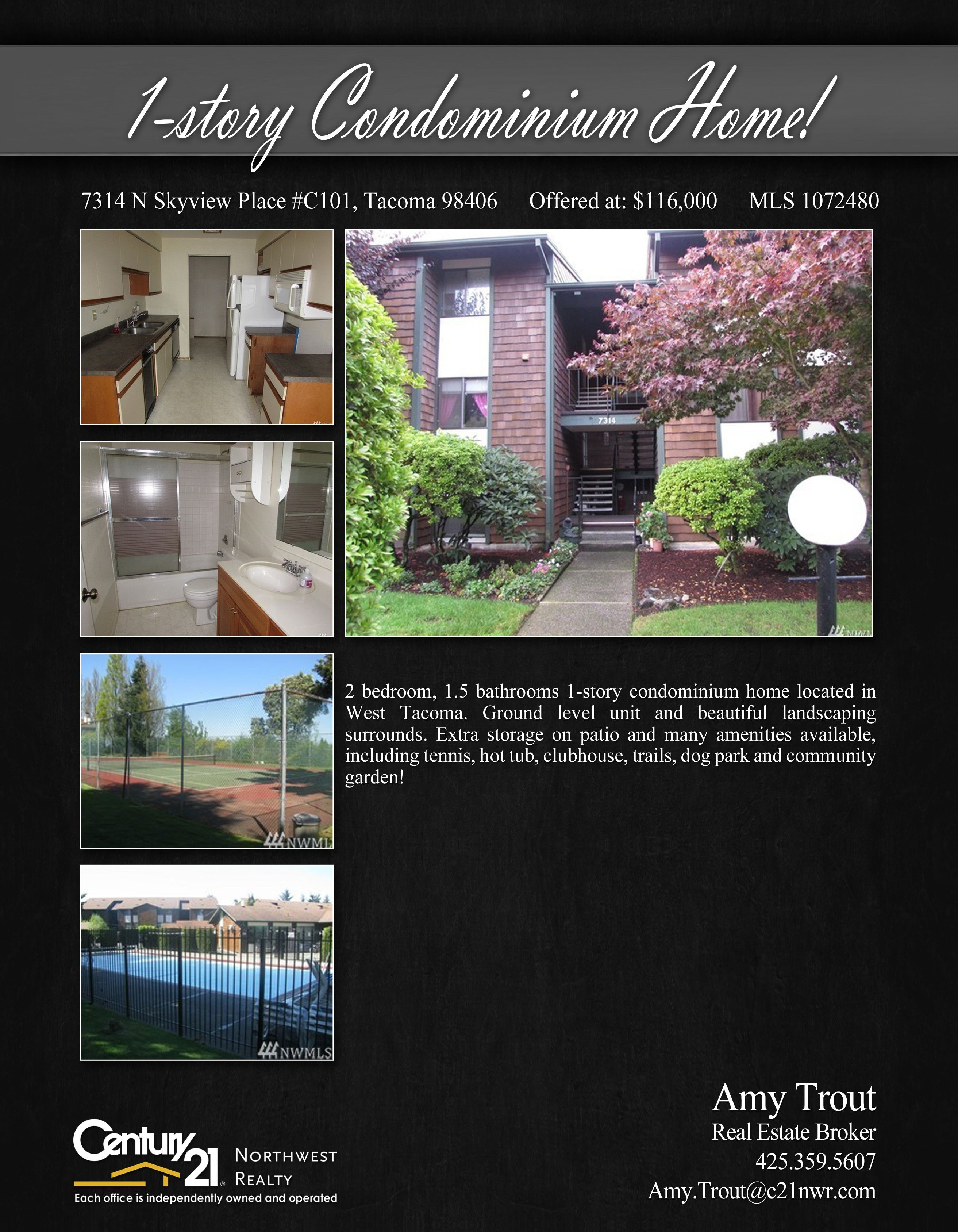 Check out this beautiful property in Tacoma with price reduced to