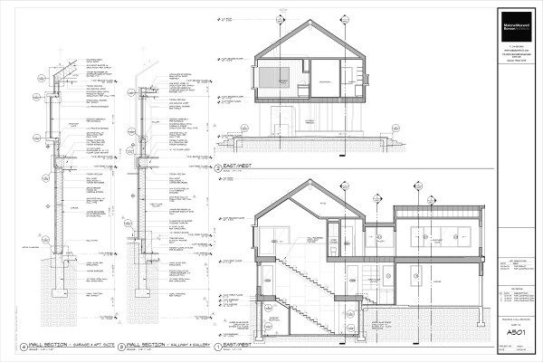 Architectural Drawings Of Modern Houses modern house drawings bob borson a501 | drawings | pinterest