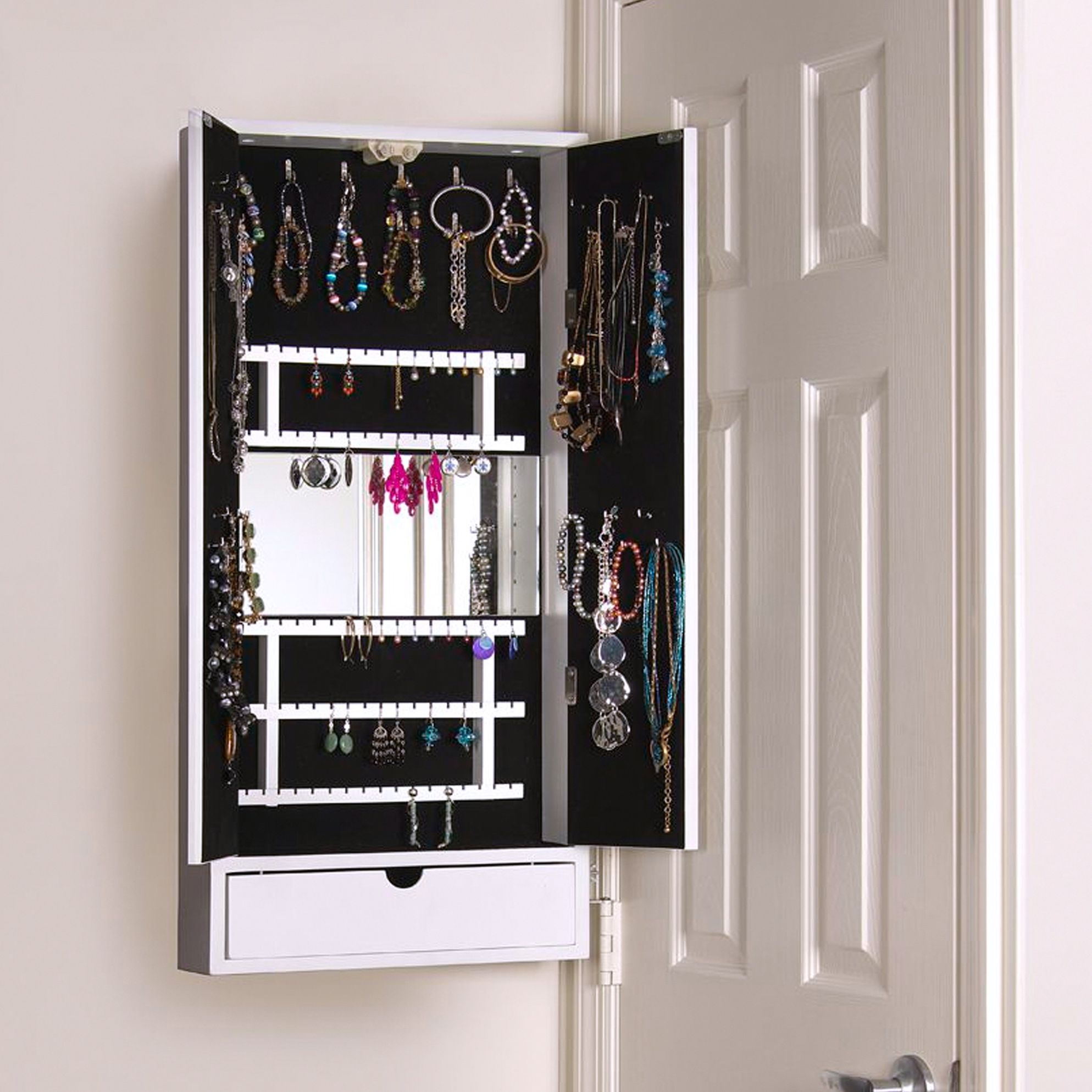 Over The Door Jewellery Cabinet Best Home Interior
