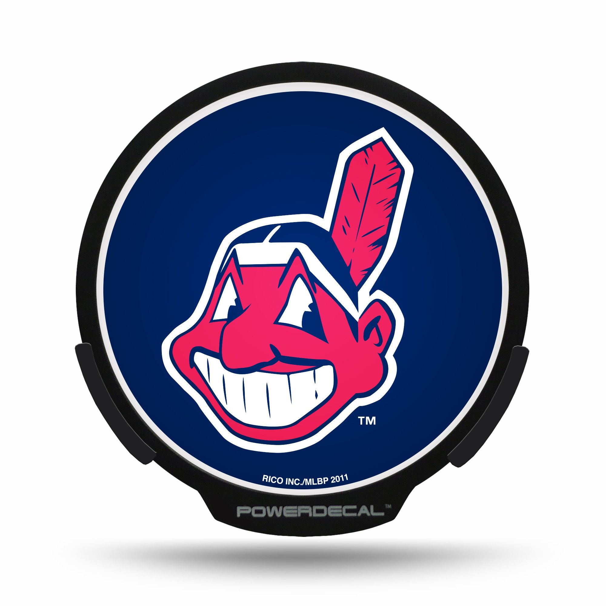 Cleveland Indians Powerdecal Cleveland Indians Logo Cleveland Indians Cleveland Baseball