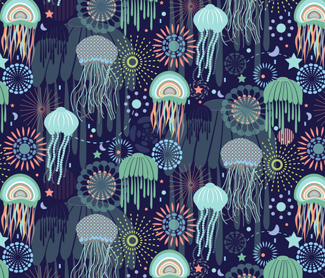 Sparkling Jellies fabric by demigoutte on Spoonflower - custom fabric - I'd love…