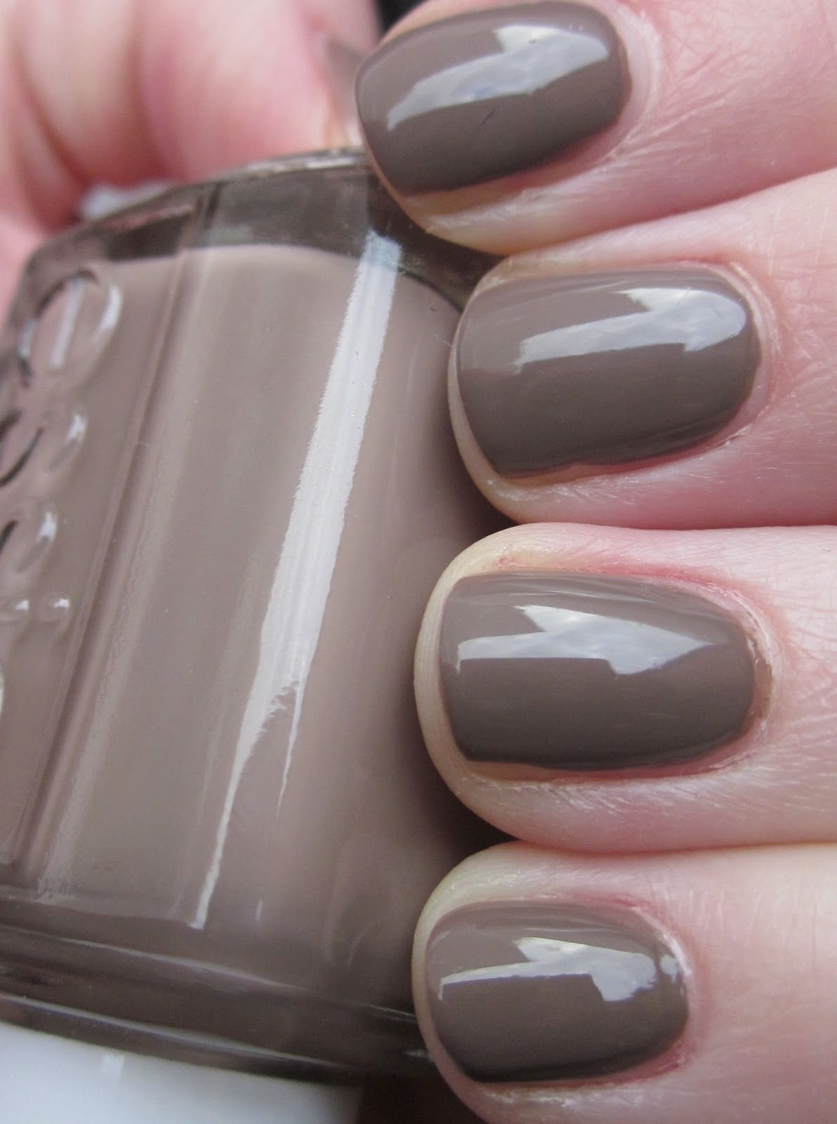 Taupe Finger Nail Polish Fall 2013   My Style   Pinterest   Taupe ...