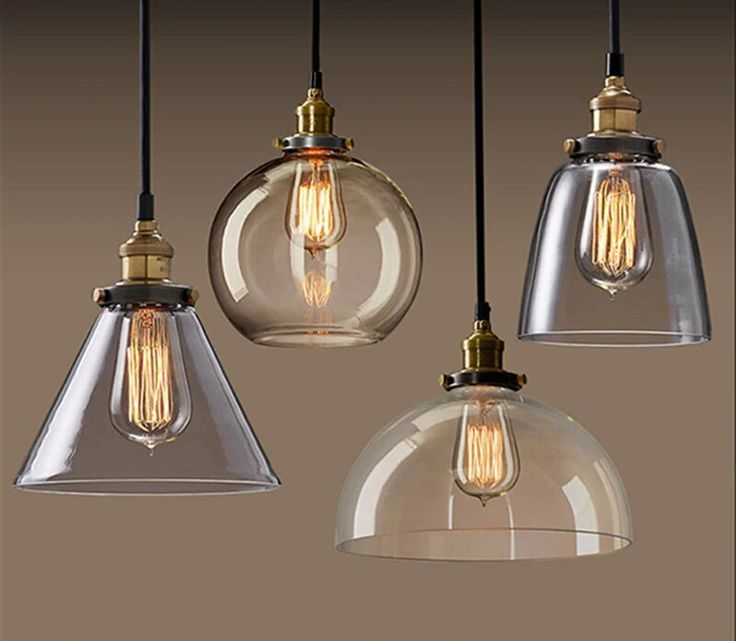 Vintage Edison Style Chandelier Vintage Pendant Lighting Glass Pendant Light Replacement Glass Lamp Shades