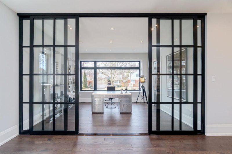Black Framed Glass Interior Room Dividers Inspirational Gallery