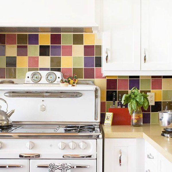Wandfliesen für die Küche - - tolle Küchenausstattung Ideen ...