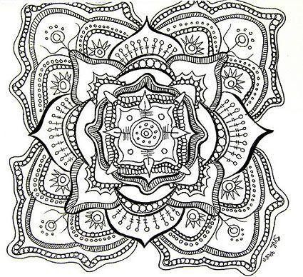 Des Mandalas à Colorier Pour Adulte Dans 11 Coloriages De Mandalas
