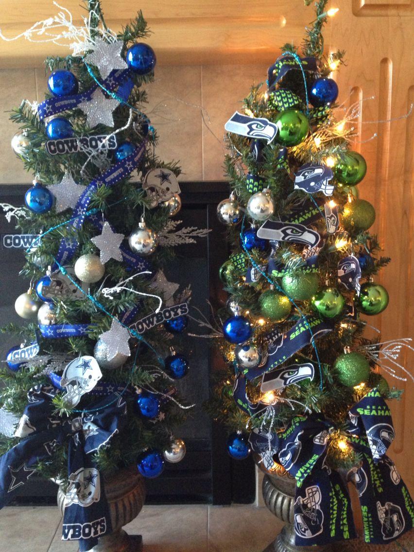 Seahawks Christmas Tree Dallas Cowboys Christmas Tree