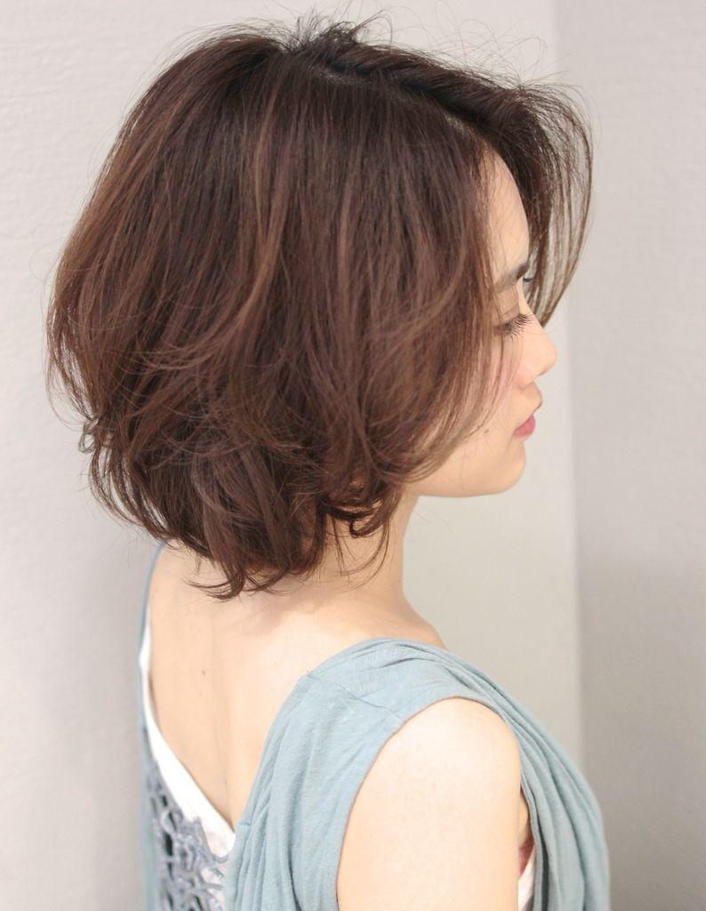 大人かわいいボブパーマ Sg 332 ヘアカタログ 髪型 ヘア