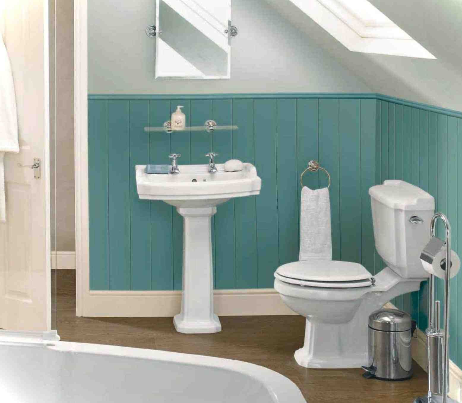 The Art Gallery small bathroom paint ideas green e ba