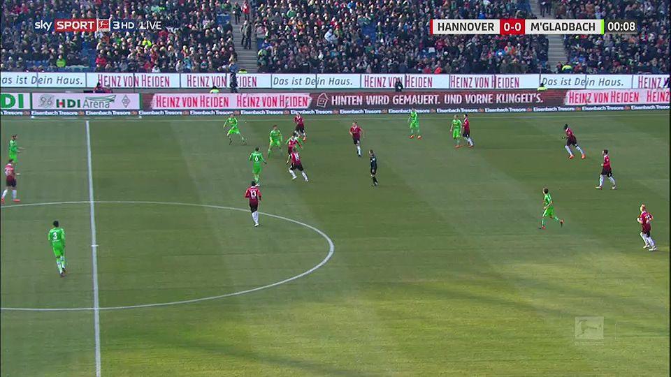 Pin on goals Bundesliga 17/18 Hannover 96 vs. Borussia