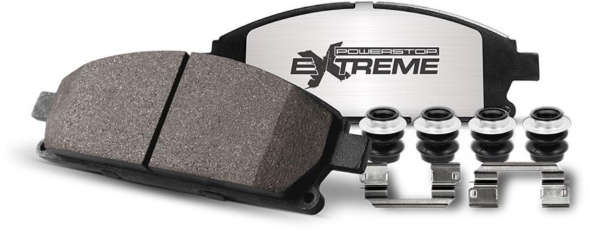 Extreme Truck Tow Carbon Fiber Ceramic Brake Pads Power Stop Ceramic Brake Pads Ceramic Brakes Power Stop