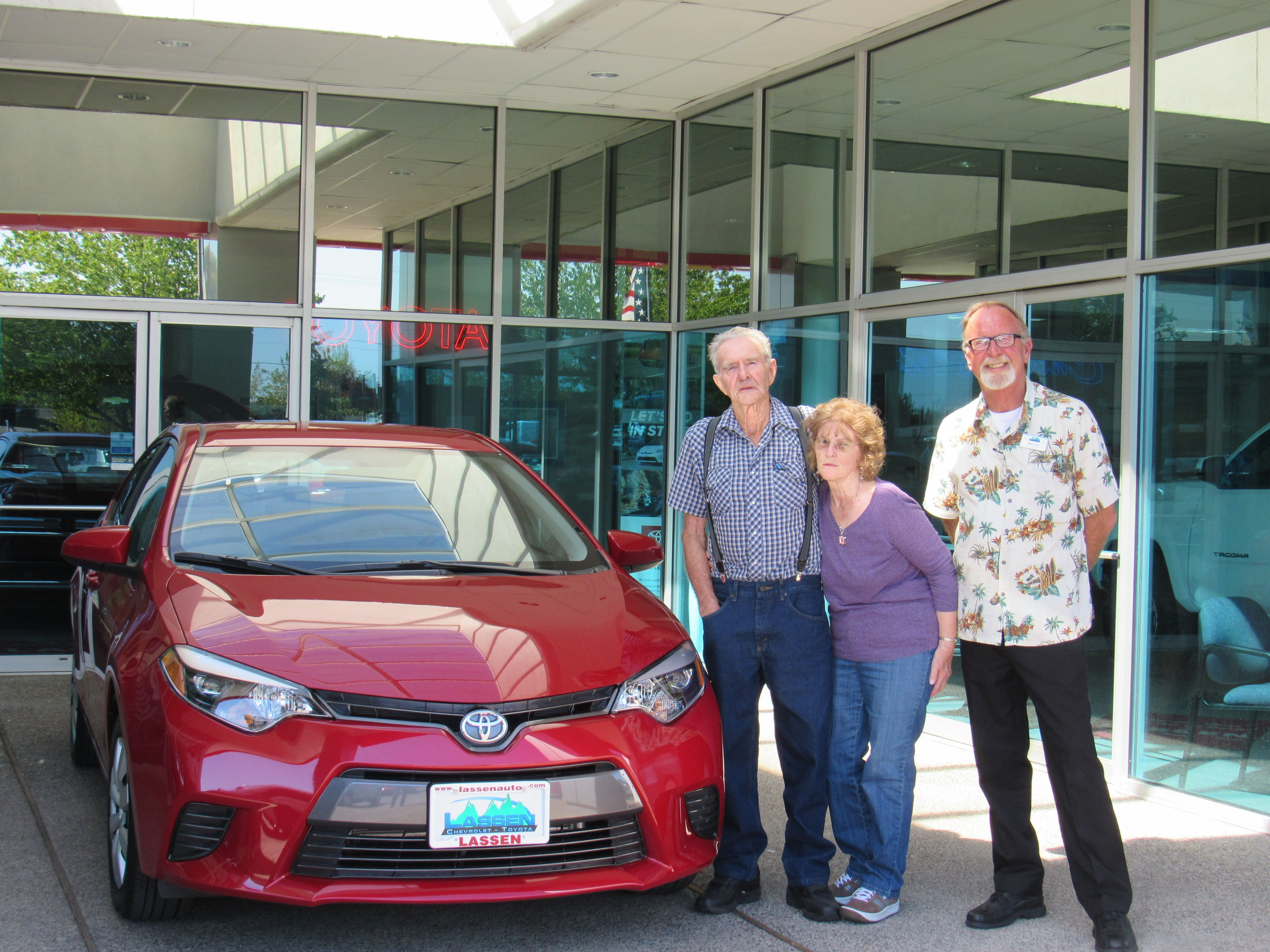 Congrats To Eleanor Holcomb For Buying This 2016 Toyota Corolla With Jere  Cox. Albany Oregon Cardealership Lassen Chevrolet/Toyota