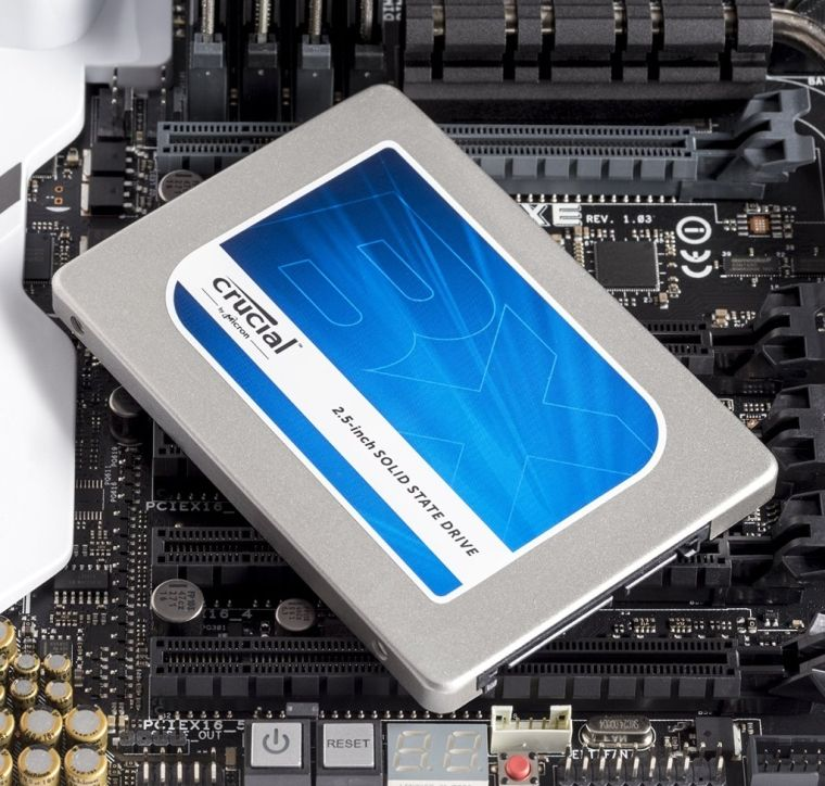 Crucial 1TB SATA 2.5 Inch Internal Solid State Drive