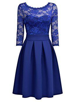 Kleid hellblau elegant