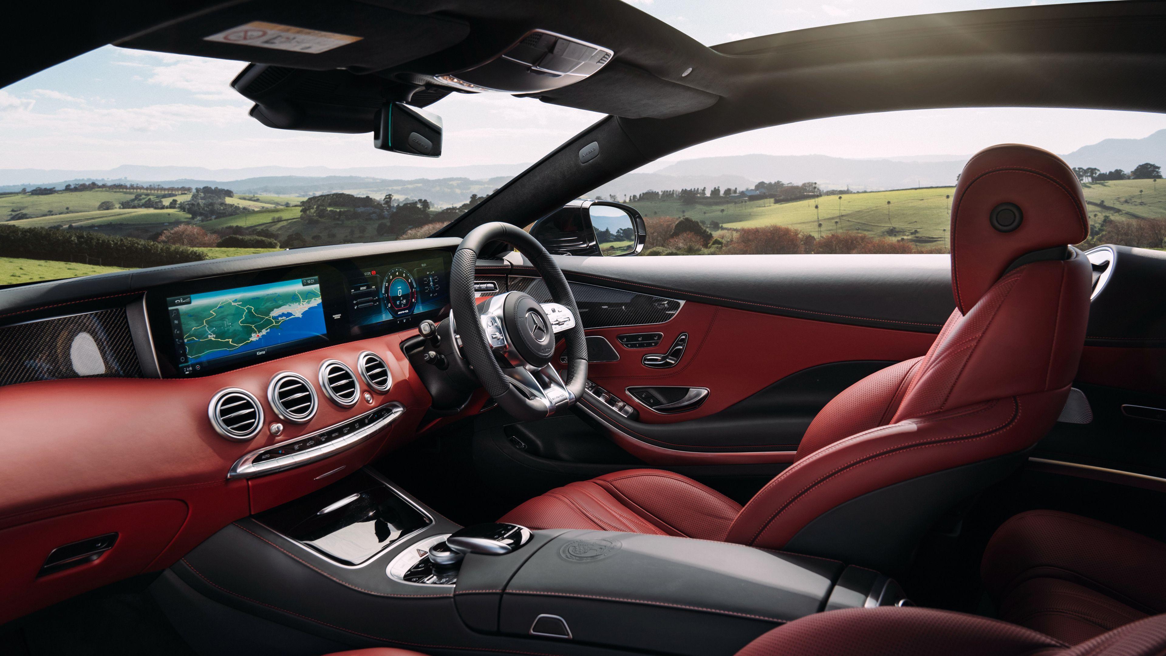 Wallpaper 4k Mercedes Amg S63 2018 Interior 2018 Cars Wallpapers